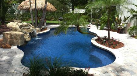 Blue-Isle-Galaxy-Blue pool finish work