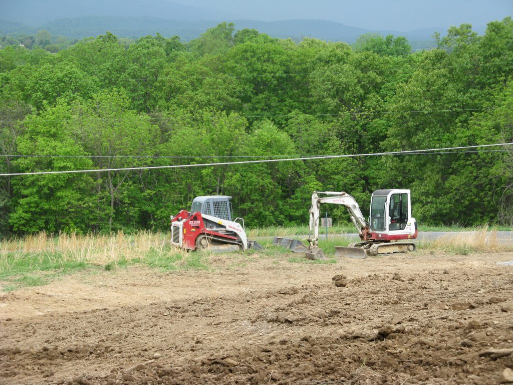 Grading, Fill and Topsoil