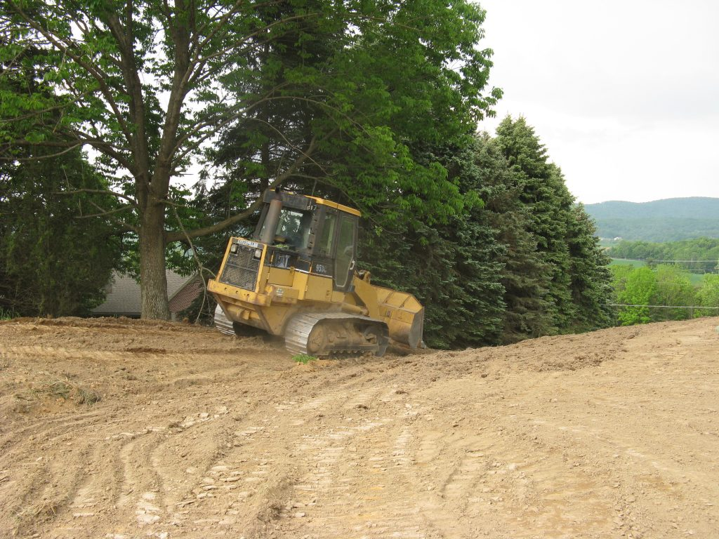 Grading, Fill and Topsoil