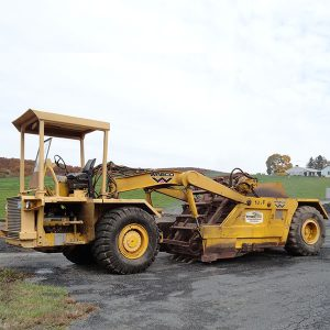 Pan Scraper – for large site work job sites.